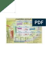 Calendario Educação DF 2011
