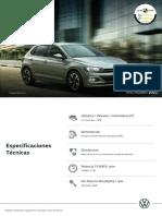VW Polo MY 2021 - Ficha técnica