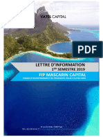 Lettre FIP Outremer S1 2019