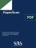 Manual PaperScan SAS