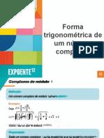 Forma Trigonométrica de Um Número Complexo