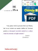 Chimia Organica Clasa a Ix 02.04.2021