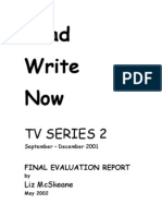 Read Write Now 2 - TV Evaluation Report