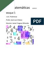 Matematicas Javier Fregoso Miranda