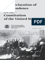 Constitution of the United States Dept of Imigration