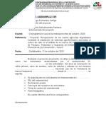 REPORTE  DE ACTIVIDADES DEL MOTOSIERRISTA