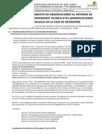 INFORME LEVANTAMIENTO DE OBSERVACIONES AL INFORME DE MODIFICACION DEL EXPEDIENTE TECNICO N°