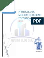 PROTOCOLO DE HIGIENE Y SEGURIDAD-COVID19-GRUPO ELEQ S.A.