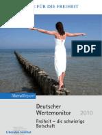 Deutscher Wertemonitor 2010, Thomas Volkmann, 2010