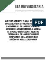 Gaceta 458 - Edición especial