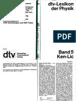 Dtv Lexikon Der Physik Band 5 Ken-Lic