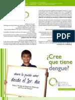 Brochure diagnóstico molecular dengue