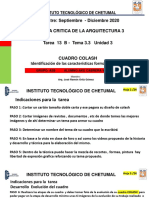 Tarea 13 B - Tema 3.3 Unidad 3 CUADRO COLASH Identificación de Las Características Formales Del Arte GRUPO 3B AKE CABRERA VICTOR MANUEL