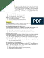 1-ESTRUCTURAS DE CADA VERBO IMPEACTIVOS EN ESPAÑOL E INGLES