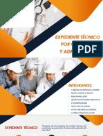Expediente Tecnico - Construcciones Diapos