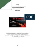 Normas de Submissão para apresentações de trabalhos do IV ENEMU