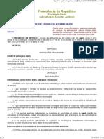 Decr 9507_18- Dispõe sobre a execução indireta, mediante contratação, de serviços