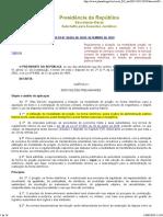 Decr 10024_19 - Regulamenta o Pregão Eletrônico
