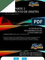 Actividad 3 Evidencia 2. Blog, Parte 2, Documento de Diseño.
