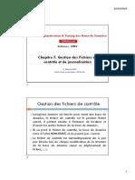 Ch7-Fichiers Controles Journalisation