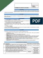 Procedimiento de elaboración de documentos