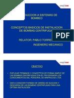 Instalacion de bombas centrifugas Pablo Torres Bozzo