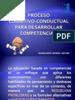 Proceso Cognitivo-conductual Para El Desarrollo de Competencias