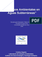 isotopos ambientales