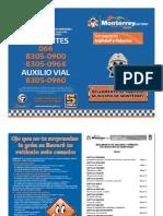 Reglamento de Tránsito Monterrey 2011