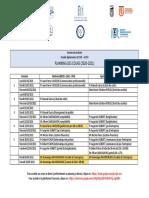 Planning des cours LP ACOFI 2020-2021 MAJ