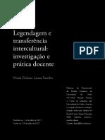 Legendagem e Transferencia Intercultural Investiga