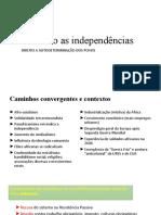 EAD- Literaturas Modulo 2- Independencias