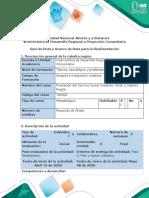 Guía de Ruta y Avance de Ruta para la Realimentación - Fase 2. Plan y Acción Solidaria CONTINGENCIA