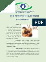 VIGILANCIA EM SAUDE DE CACERES - Imunizacao