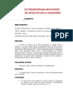 FICHAMENTO 2 - Arquitetura e Clima