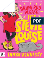 Drum Roll Please, It's Stevie Louise by Tanya Hennessy Chapter Sampler