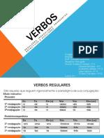 VERBOS REGULARES E IRREGULARES - ANÔMALOS, DEFECTIVOS E ABUNDANTES