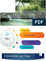 COURS HYDROLOGIE