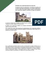 EVOLUCIÓN HISTÓRICA DE LA RESTAURACIÓN EN EL SIGLO XIX y XX