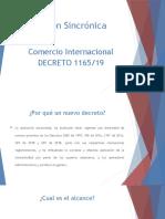 COMERCIO # 2 - decreto 1165 - 2019