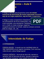 NR17 - Fadiga