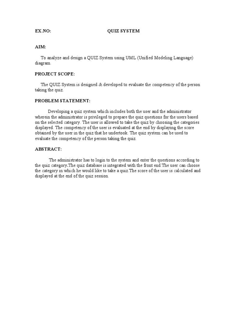 Quiz system user computing password ccuart Gallery