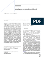 Toughness testing of ultra high performance fibre reinforced