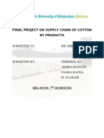 supply chain of cotton
