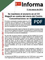 2011.03.11.Encierro CO Magerit y concentración Arganda