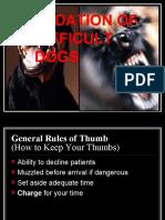 Difficult Dogs IVAPM
