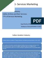 services mktng ppt 1-Indigo_Kapil_Chintu