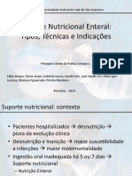 Suporte Nutricional Enteral