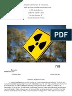 Radiactividad Jesús Brito 5to B