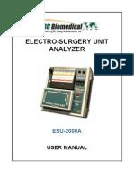 BCBiomedical ESU-2000A UM Rev02